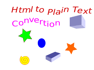 HTML to Plain Text Convertion on GNU / Linux and FreeBSD