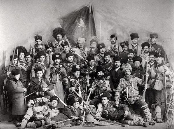 Chetata na Yane Sandanski Ilindensko Preobrazhensko revolt uprising