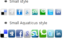 ITprism Joomla Social Share Plugin various button types