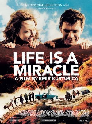 Life is a miracle movie, Jivot ie cudo movie cover