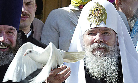 Dove and Russian Patriarch