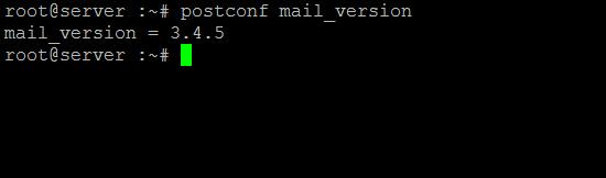 postfix-show-version-postconf-linux