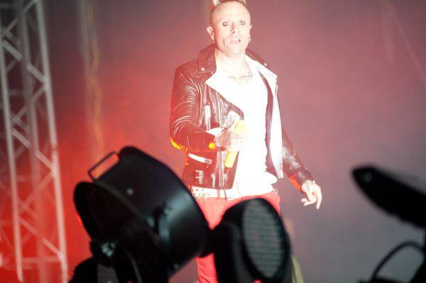 Prodigy Vocalist Keith Flinth on main stage spirit of burgas 2012