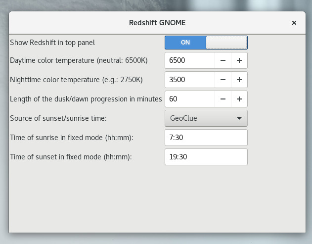 redshift-change-monitor-brightness-to-reduce-eye-strain-gnome