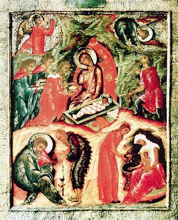 rojdestvo_Iisusa_Hrista_17th-vek-srpska-ikona