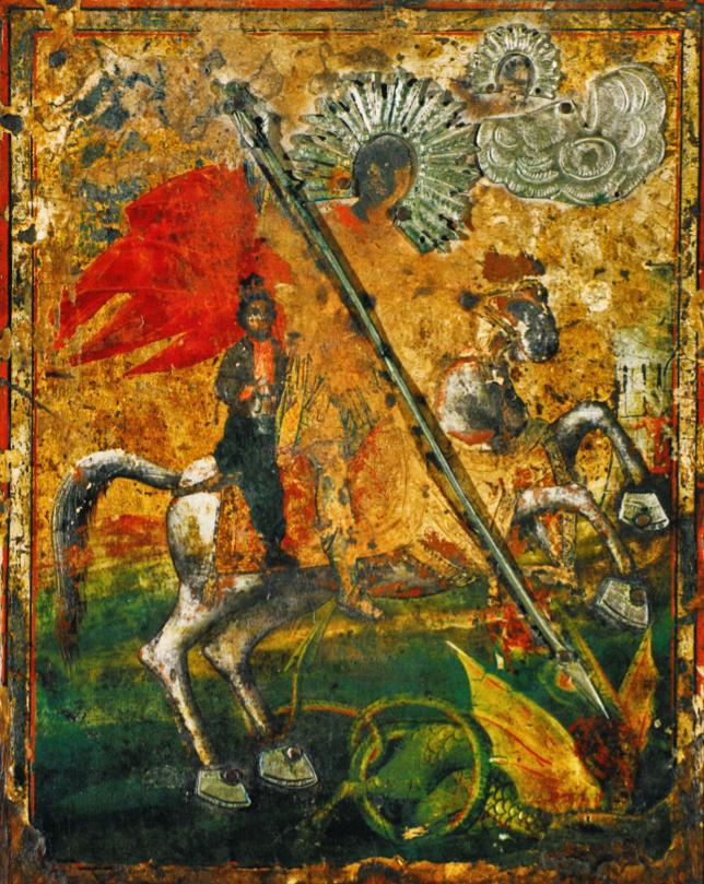 saint-George-icon-Hadji-Dimovo-monastery-Bulgaria-ikona-sv-Georgi