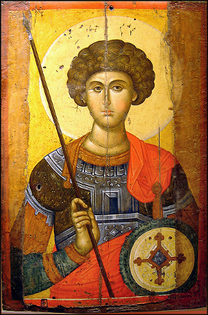 saint George orthodox icon