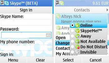 How to install skype on nokia n95 8G java client program