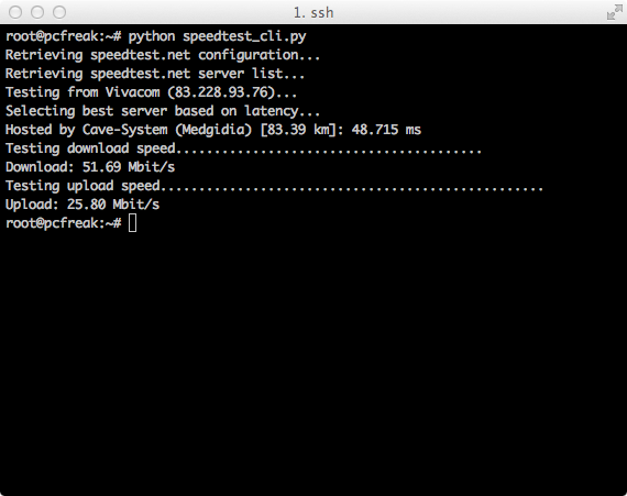 speedtest_cli_pyhon_script_screenshot-on-gnu-linux-test-internet-network-speed-on-unix