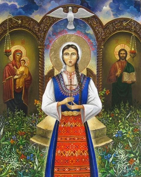 st-Zlata-of-Meglen-holy-martyr-helper-of-foreigners-abroad-living