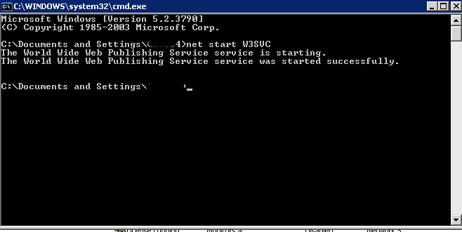 start-restart-IIS-webserver-screenshot