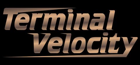 Terminal Velocity Game title logo dosbox Debian Linux