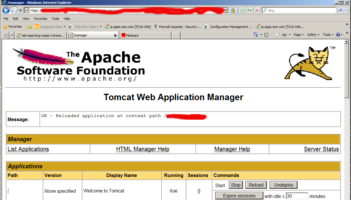 tomcat-manager-FAIL-Application-at-context-path-application-name-could-not-be-started-fix-solution-error
