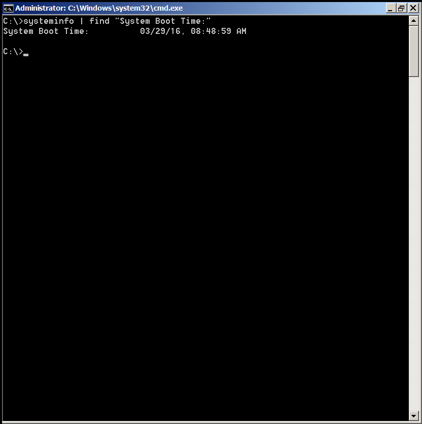 windows-os-command-to-get-system-uptime-screenshot